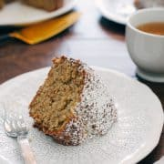 Banana Pineapple Cake | www.kitchenconfidante.com | Bananas and pineapple make this comforting cake moist and delicious.