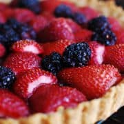Strawberry-Blackberry-Tart