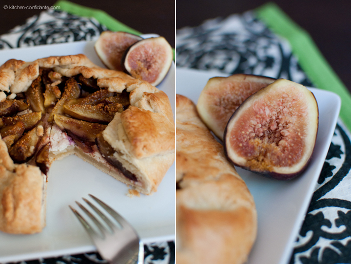 Fig, Honey & Goat Cheese Galette
