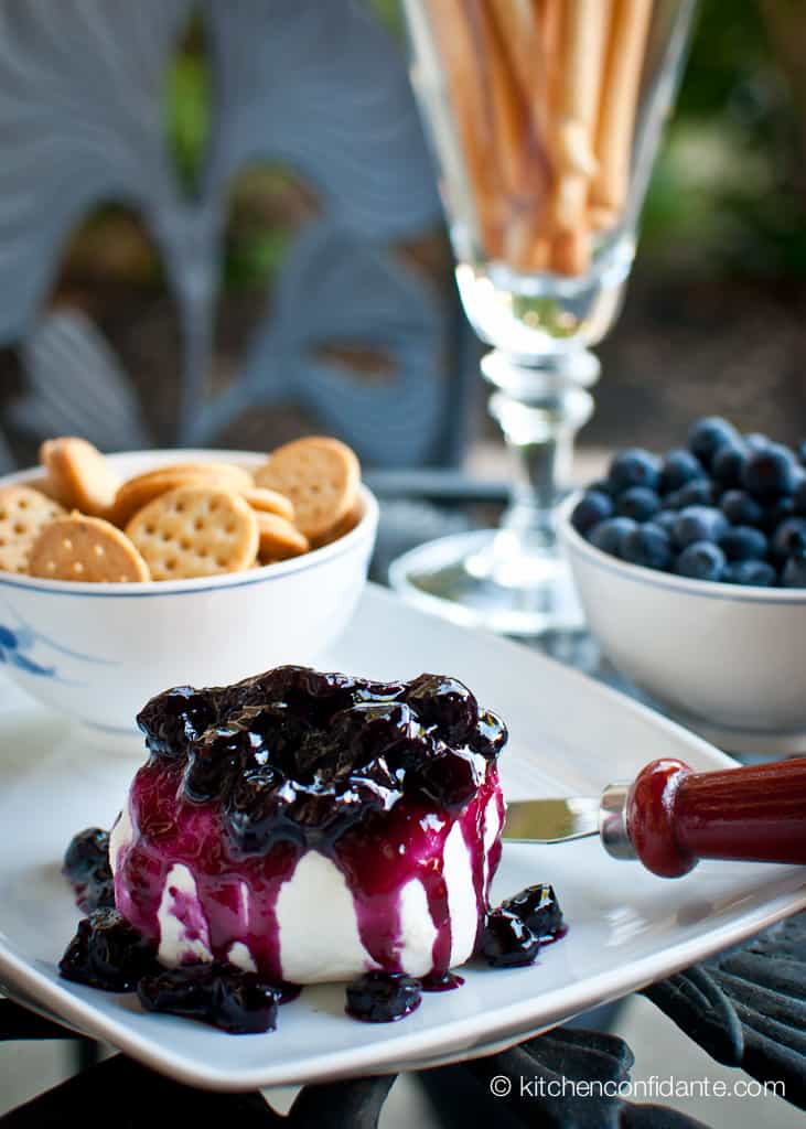 Blueberry Vanilla Compote