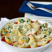 Prosciutto-and-Spinach-Stuffed-Shells