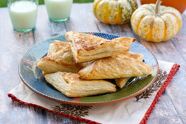 Pumpkin Turnovers | Plateful
