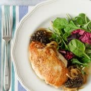 Roast Chicken with Morels and Onions | Kitchen Confidante | SLIDER