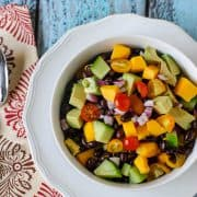 Mango &amp; Black Bean Salad | Kitchen Confidante