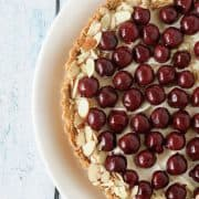 Morello Cherry Almond Tart | Kitchen Confidante