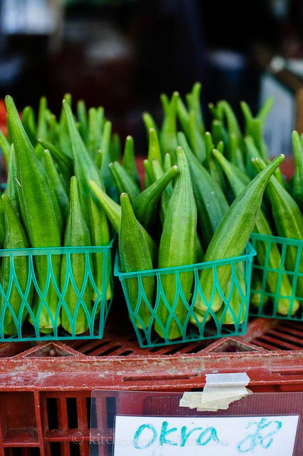 Ferry Building Farmers Market | Kitchen Confidante | Okra