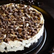 Peanut Butter Cup Ice Cream Cake | Kitchen Confidante | Main