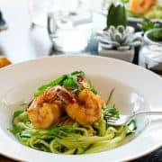 Spicy Shrimp with Zucchini Noodles | Kitchen Confidante