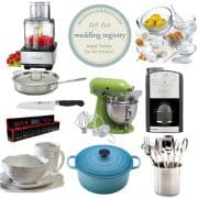 Wedding-Registry-Top-10-Must-Haves | Kitchen Confidante