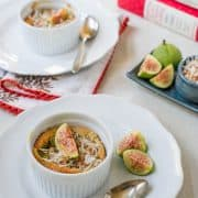Coconut &amp; Fig Clafoutis | Kitchen Confidante