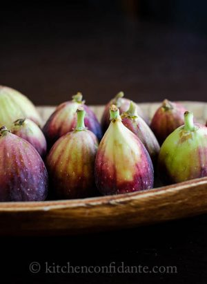 Figs with Honeyed Goat Cheese | Kitchen Confidante | Figs