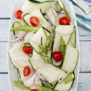 Shaved Cucumber Salad | Kitchen Confidante