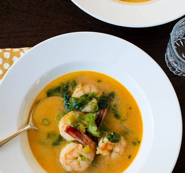 Thai Style Shrimp Curry | Kitchen Confidante
