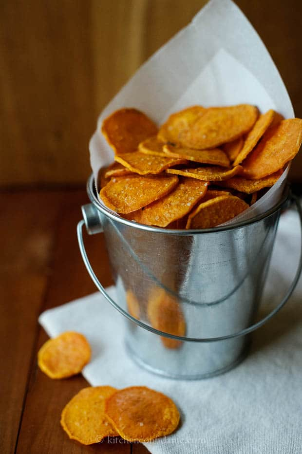 Sweet Potato Chips | Kitchen Confidante | Kamote Chips