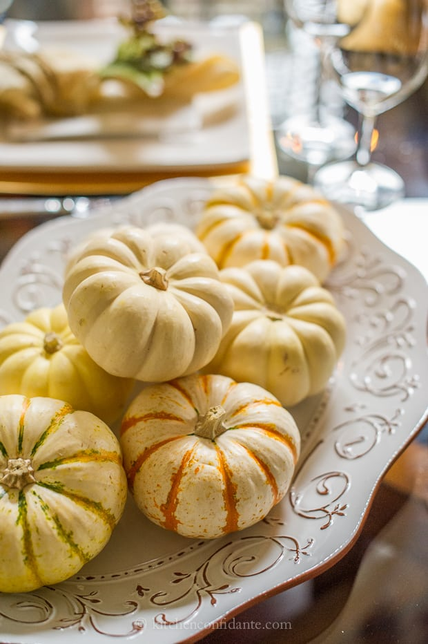Wayfair Tablescape Challenge | Kitchen Confidante | Pumpkins