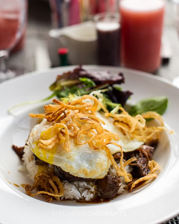 Royal Loco Moco | Kitchen Confidante | Surf Lanai, The Royal Hawaiian