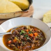 Beef and Lentil Chili | Kitchen Confidante-5