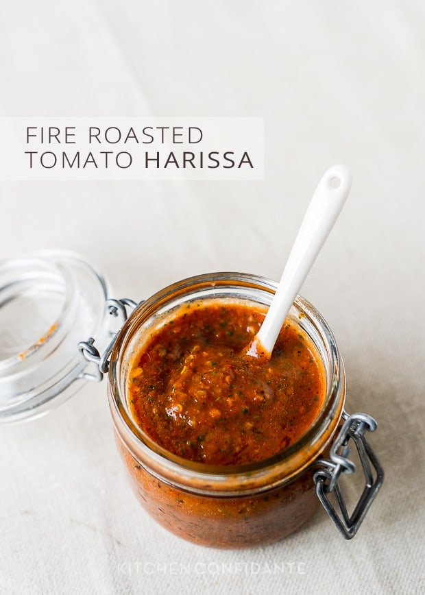 Fire Roasted Tomato Harissa | Kitchen Confidante | Harissa Sauce in Jar