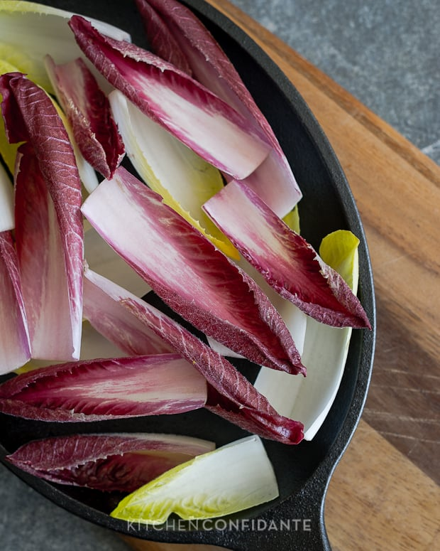 Beet and Burrata Endive Salad | Kitchen Confidante | Endives