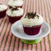 Chocolate Buttermilk Cupcakes | Kitchen Confidante | With Cream Cheese Frosting
