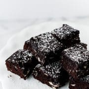 Fudgy Jam Brownies | Kitchen Confidante | FEATURED
