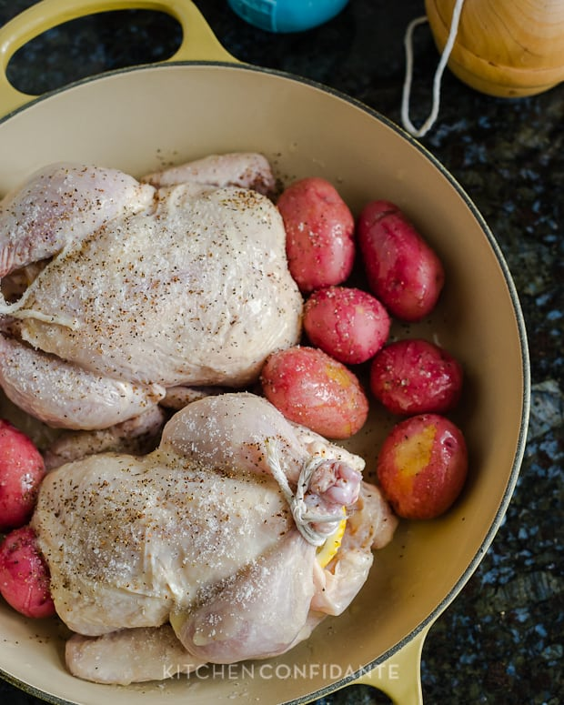Buttermilk Brined Cornish Hens | Kitchen Confidante | Prepped