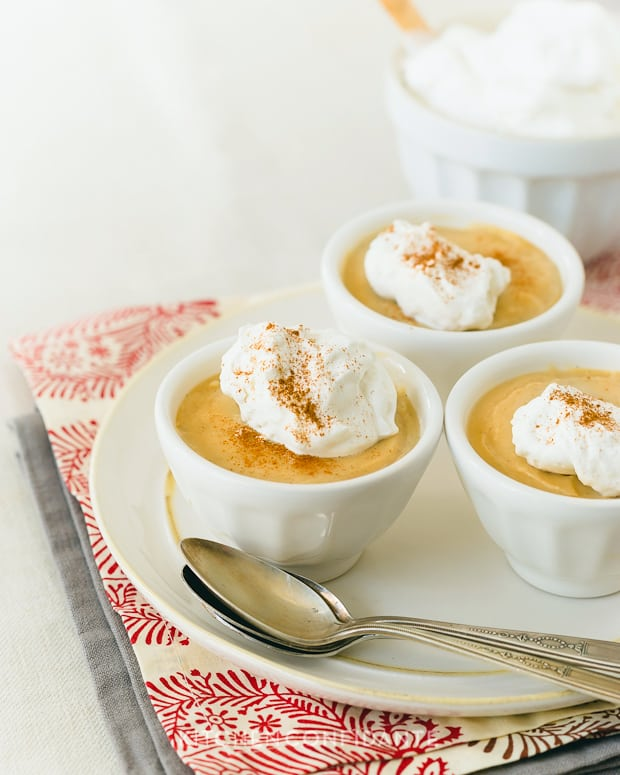Cognac Butterscotch Pudding