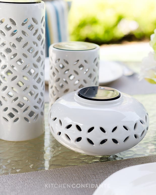 Dress Up the Season | Target Threshold | Kitchen Confidante | Solar Lanterns