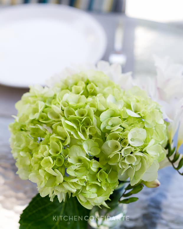 Dress Up the Season | Target Threshold | Kitchen Confidante | Hydrangea