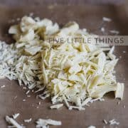 Five Little Things | Kitchen Confidante | White Chocolate