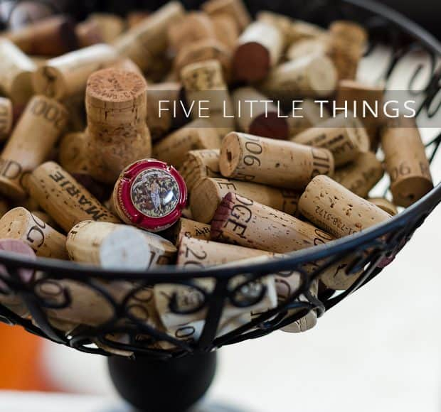 Five Little Things | Kitchen Confidante | Wine Corks