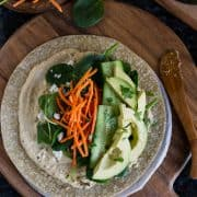 Veggie Wrap | Kitchen Confidante-5