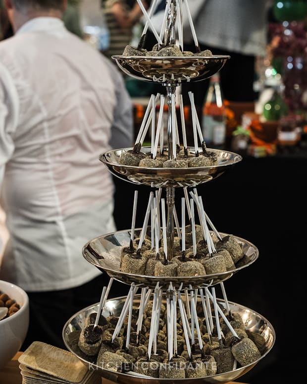 Sixth Annual Pebble Beach Food & Wine, April 2013 | Kitchen Confidante | A Tower of Chocolates by Chef Jacques Torres