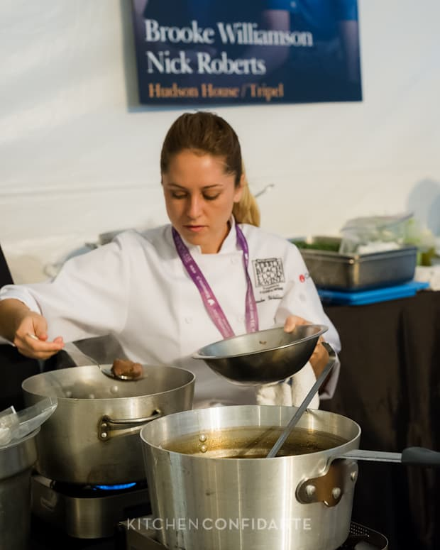 Sixth Annual Pebble Beach Food & Wine, April 2013 | Kitchen Confidante | Chef Brooke Williamson