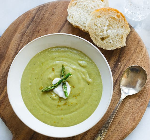 Roasted Asparagus and Sweet Potato Soup   Kitchen Confidante-2-EDITED