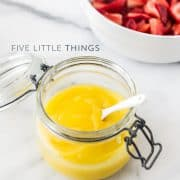 Five Little Things - May 24, 2013 | Kitchen Confidante | Lemon Curd