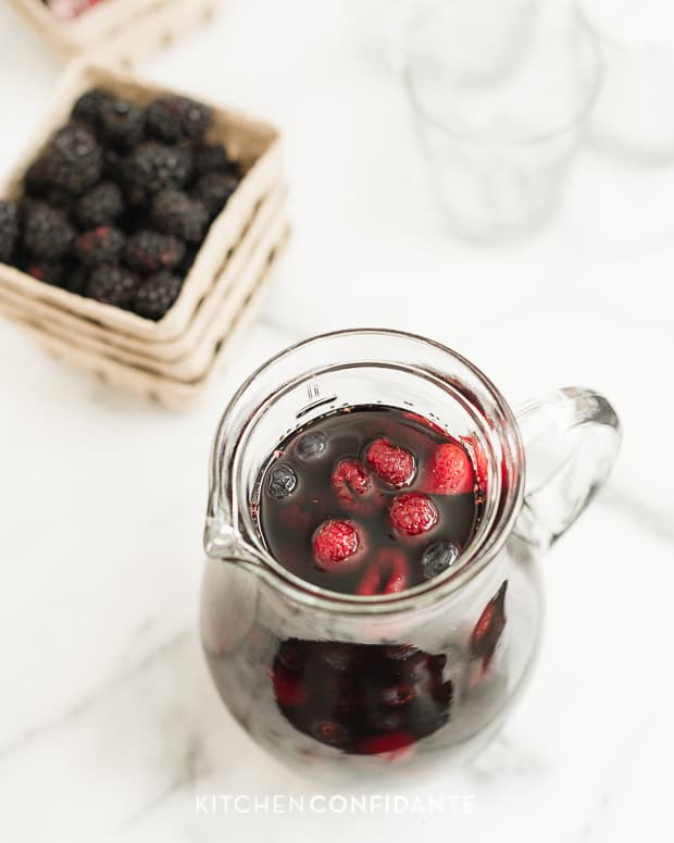 Berry Sangria | www.kitchenconfidante.com | PITCHER