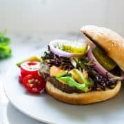 Cilantro-Sriracha Turkey Burgers | www.kitchenconfidante.com-10