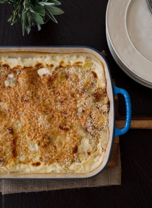 Autumn Squash Gratin and More Le Creuset Signature Roaster Recipes | Kitchen Confidante