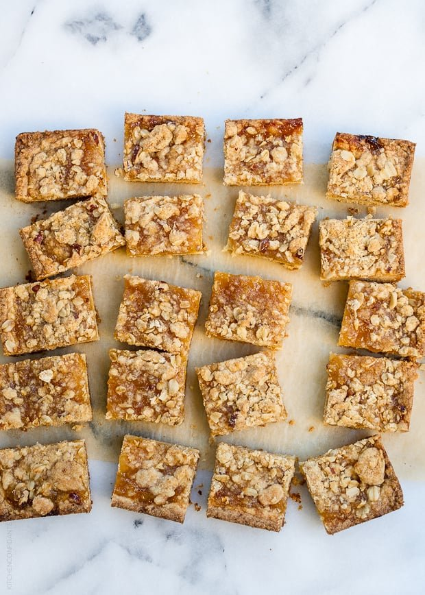 Meyer Lemon Jam Crumb Bars | www.kitchenconfidante.com