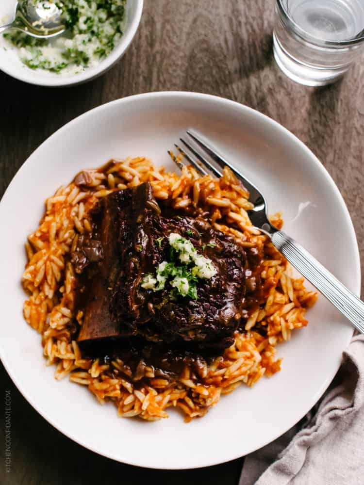 Whether you use a slow cooker or the oven, make time for these Braised Chipotle Short Ribs. All you need is 15 minutes of prep and hours of love in the oven, and you will be rewarded with rich, spicy taste of time.