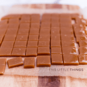 Five Little Things - October 18, 2013 | www.kitchenconfidante.com | Homemade Caramels
