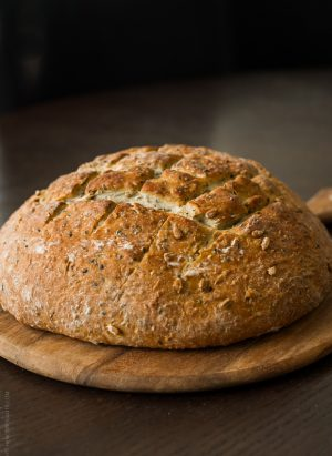 Seed Bread | www.kitchenconfidante.com