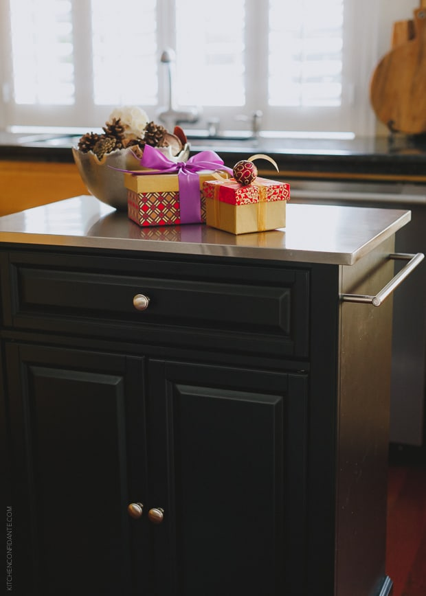 Stylish Ways to Stash Holiday Gifts | www.kitchenconfidante.com
