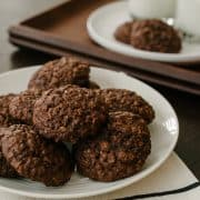 Chocolate Oatmeal Cookies | www.kitchenconfidante.com