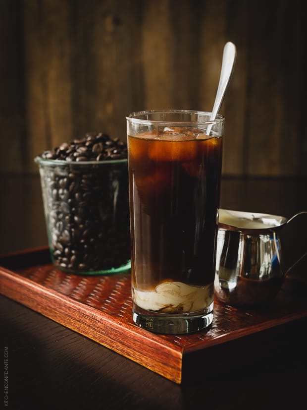Homemade Thai Iced Coffee | www.kitchenconfidante.com