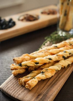 Olive Cheese Straws | www.kitchenconfidante.com