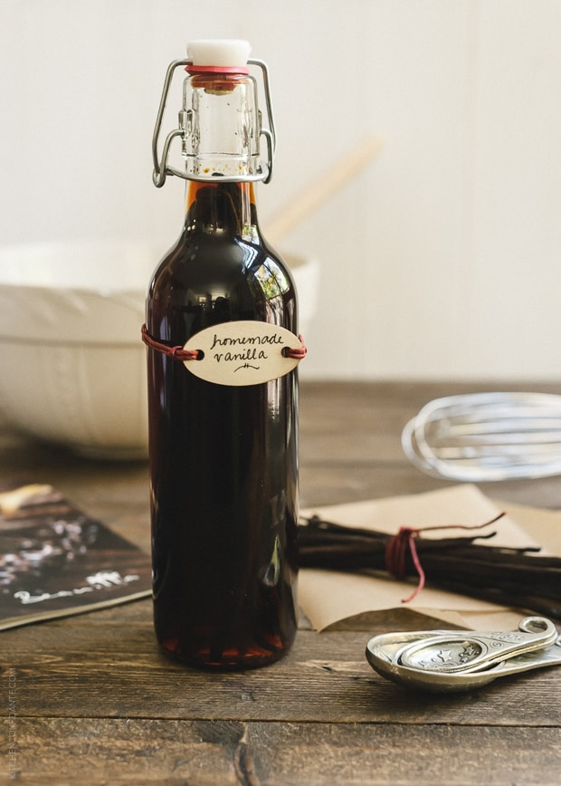 Homemade Vanilla Extract | www.kitchenconfidante.com | Homemade ...