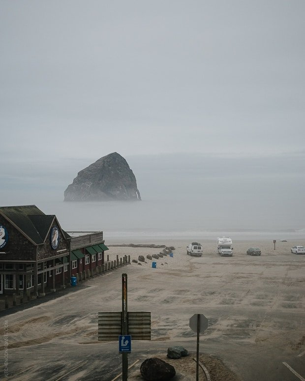 Tillamook #Blog2Farm | www.kitchenconfidante.com | View of Cape Kiwanda