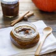 Maple Pumpkin Butter // www.kitchenconfidante.com | Autumn in a jar. You'll find yourself eating it by the spoonful.